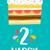 feliz · aniversário · bolo · cartão · 20 · vinte · ano - foto stock © cienpies