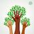diversity hands green concept tree stock photo © cienpies
