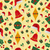 christmas icons pattern background stock photo © cienpies
