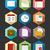 calendrier · app · icône · design · web · organisateur - photo stock © cienpies