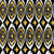 gold peacock retro tribal boho pattern background stock photo © cienpies