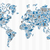 grafiek · wereld · beneden · business · teken · bar - stockfoto © cienpies