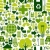 Green environment icons pattern background stock photo © cienpies
