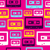 pop audio cassette pattern stock photo © cienpies