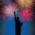 happy new year fireworks in usa stock photo © cienpies