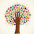 odizolowany · różnorodności · drzewo · ręce · ilustracja · wektora - zdjęcia stock © cienpies