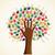 renkli · sevmek · ağaç · örnek - stok fotoğraf © cienpies