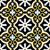 mosaico · piastrelle · modello · di · fiore · geometrica · forme · floreale - foto d'archivio © cienpies