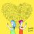 social · media · lesbische · liefde · internet · pictogrammen · twee · vrouwen · illustratie - stockfoto © cienpies