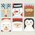 alegre · natal · tenha · cartaz · imagem · apresentar - foto stock © cienpies