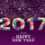 new year 2017 colorful low poly card design stock photo © cienpies