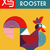 chinese new year 2017 modern abstract rooster card stock photo © cienpies