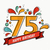 kleurrijk · gelukkige · verjaardag · aantal · lijn · ontwerp · wenskaart - stockfoto © cienpies