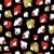 vector · goud · splatter · verf · abstract · zwarte - stockfoto © cienpies
