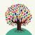 aislado · diversidad · árbol · manos · ilustración · tarjeta · de · felicitación - foto stock © cienpies
