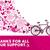 lutte · cancer · du · sein · femmes · aider · ami · médecine - photo stock © cienpies