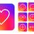 icon · interface · social · media · sjabloon · app - stockfoto © cienpies