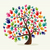 colorful solidarity hand tree stock photo © cienpies