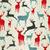 Christmas wooden reindeer pattern stock photo © cienpies