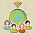 internet · diversidade · pessoas · global · conexão · esboço - foto stock © cienpies