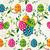 かわいい · イースター · 卵 · 花 · エンドレス - ストックフォト © cienpies