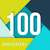 gelukkige · verjaardag · 100 · jaar · wenskaart · poster · kleur - stockfoto © cienpies