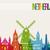 アムステルダム · スカイライン · オランダ · ビジネス · デザイン · 橋 - ストックフォト © cienpies