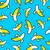 banane · pop · art · vecteur · modèle · blanche - photo stock © cienpies