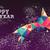 happy · new · year · 2016 · renk · üçgen · bağbozumu · kart - stok fotoğraf © cienpies