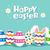 joyeuses · pâques · lapin · citer · vacances · carte - photo stock © cienpies