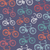 retro hipster bicycle seamless pattern stock photo © cienpies