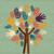 kolorowy · miłości · drzewo · ilustracja - zdjęcia stock © cienpies