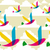transparent multicolored birds pattern stock photo © cienpies