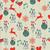 Noel · cin · ren · geyiği · kırmızı · yeşil - stok fotoğraf © cienpies