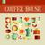 ícones · comida · beber · forma · de · coração · fruto · restaurante - foto stock © cienpies
