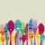 heureux · couleur · coutellerie · coloré · argenterie · drôle - photo stock © cienpies