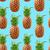 ヴィンテージ · パイナップル · テクスチャ · スタイル · 自然 - ストックフォト © cienpies