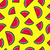 seamless pattern with watermelon fruit icons stock photo © cienpies
