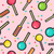 stitch patches sweet lollipop seamless pattern stock photo © cienpies