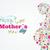 mères · jour · carte · de · vœux · design · or · lettres - photo stock © cienpies