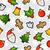 陽気な · クリスマス · 要素 · カラフル · 安物の宝石 - ストックフォト © cienpies