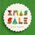 neşeli · Noel · geometrik · satış · poster · soyut - stok fotoğraf © cienpies