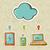 cloud computing concept diagram stock photo © cienpies