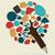 social · media · sieci · drzewo · ludzi · ikona · pozostawia - zdjęcia stock © cienpies