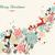 alegre · natal · onda · cartão · feliz · ano · novo · colorido - foto stock © cienpies