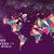 ano · novo · 2015 · mapa · do · mundo · cartão · feliz · ano · novo · cartão - foto stock © cienpies