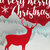 merry christmas winter paper cut art deer card stock photo © cienpies