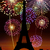 Párizs · karácsony · Franciaország · égbolt · város · templom - stock fotó © cienpies