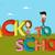 garçon · fille · leçon · école - photo stock © cienpies