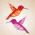 coloré · oiseaux · illustration · résumé - photo stock © cienpies